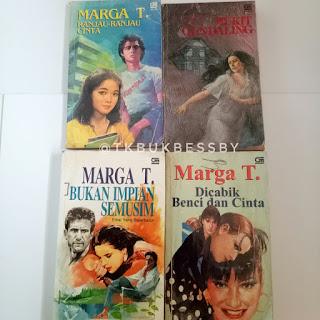 Jual Koleksi Novel Marga T