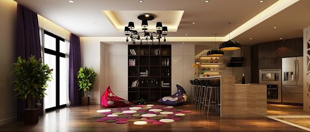 Thiết kế nội thất căn hộ tại An Bình City