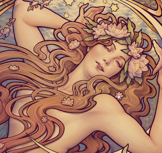 New artwork: Andersen's Little Mermaid - Medusa Dollmaker