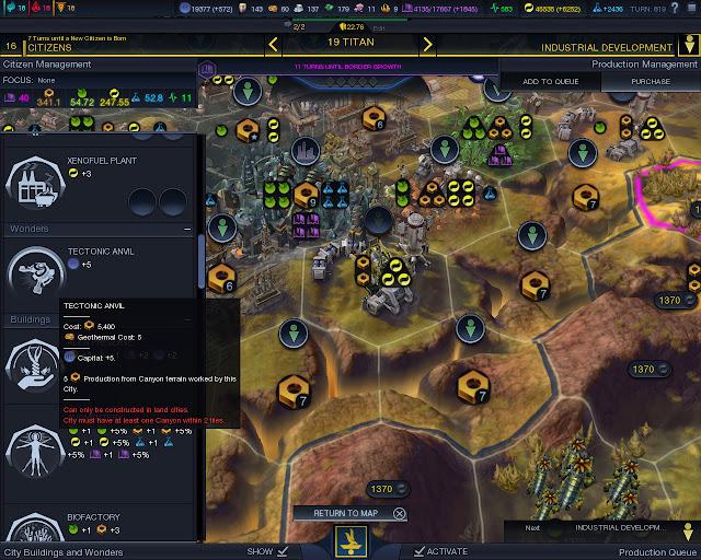 Civilization: Beyond Earth  | City Worker Tiles screenshot