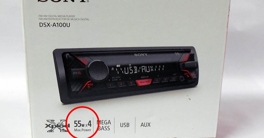 Sony Drive 5 Car Stereo Manual