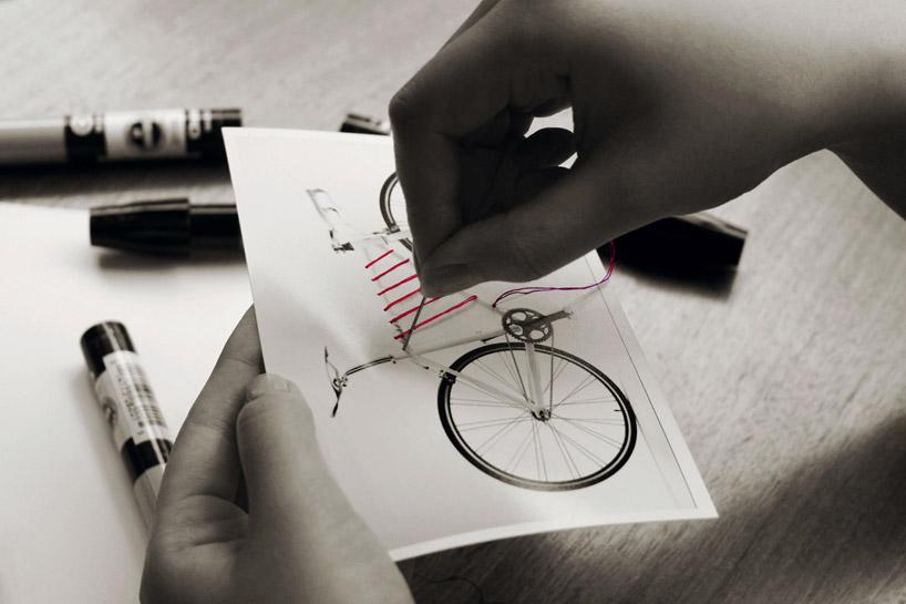Dispositivo de almacenamiento para bicicleta.