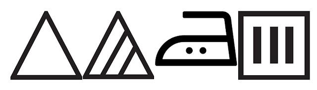 significado de los símbolos de las etiquetas de la ropa