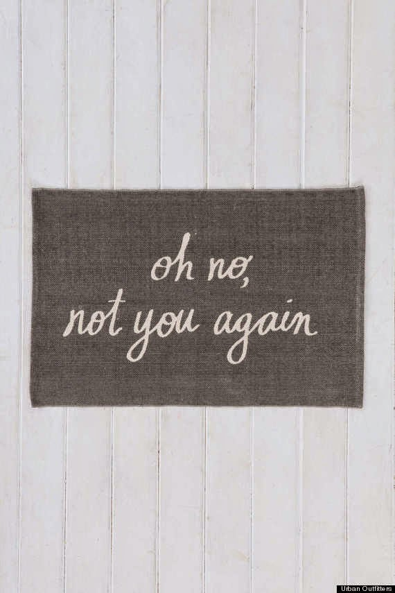 10 funny doormats that completely spoke our minds do it yourself ideas and projects. Black Bedroom Furniture Sets. Home Design Ideas