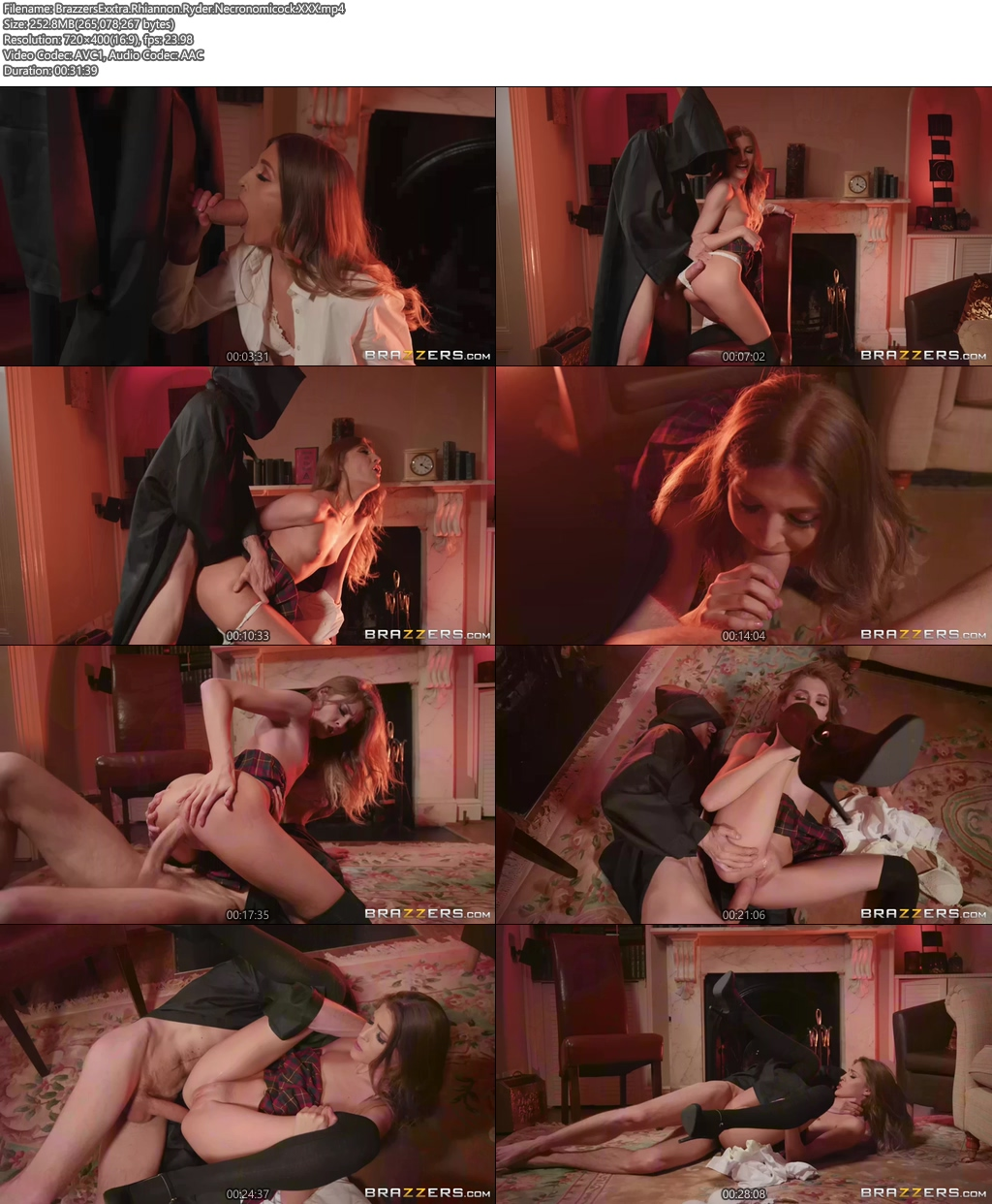 [18+] BrazzersExxtra Rhiannon Ryder Necronomicock XXX Screenshot