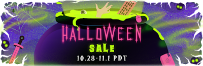 Steam, i saldi di Halloween