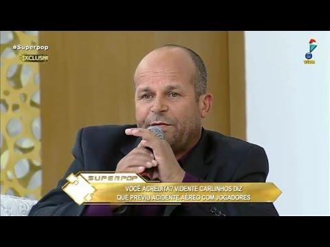 Vidente Carlinhos faz previsões para 2017 (Vidente do avião Chapecoense)