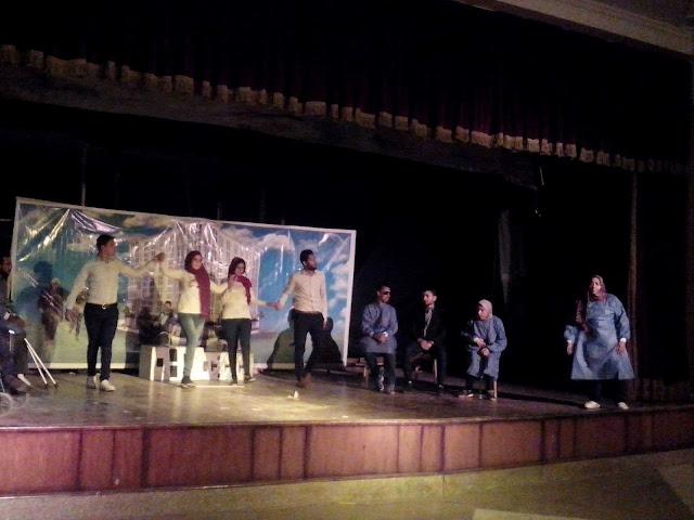 """مسرح متحدى الإعاقة يحتضن فريق """"مسرحية قد التحدى"""""""