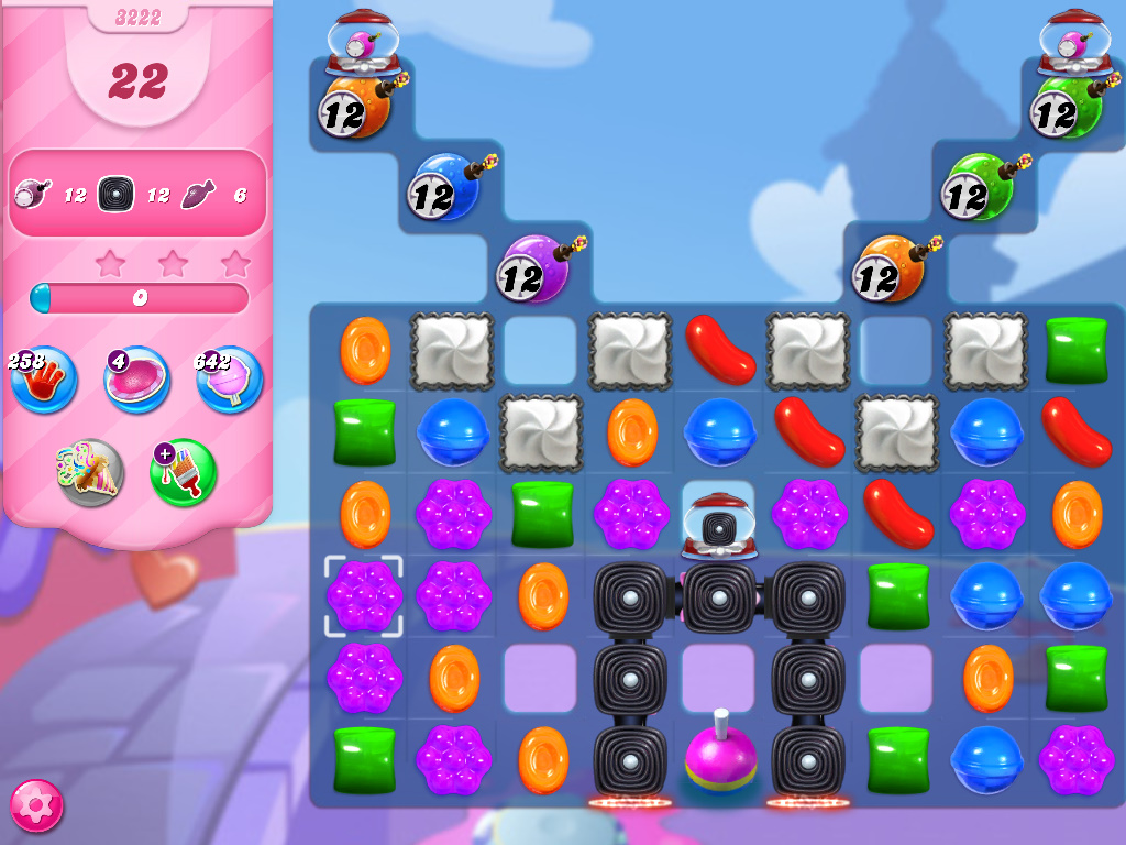 Candy Crush Saga level 3222