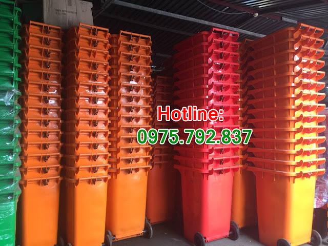 www.123nhanh.com: Cung cấp Thùng rác 60 lít, 120 lít, 240 lít, 660 lít