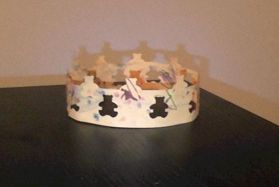 ma tchou team fabriquer une couronne des rois avec des petits. Black Bedroom Furniture Sets. Home Design Ideas