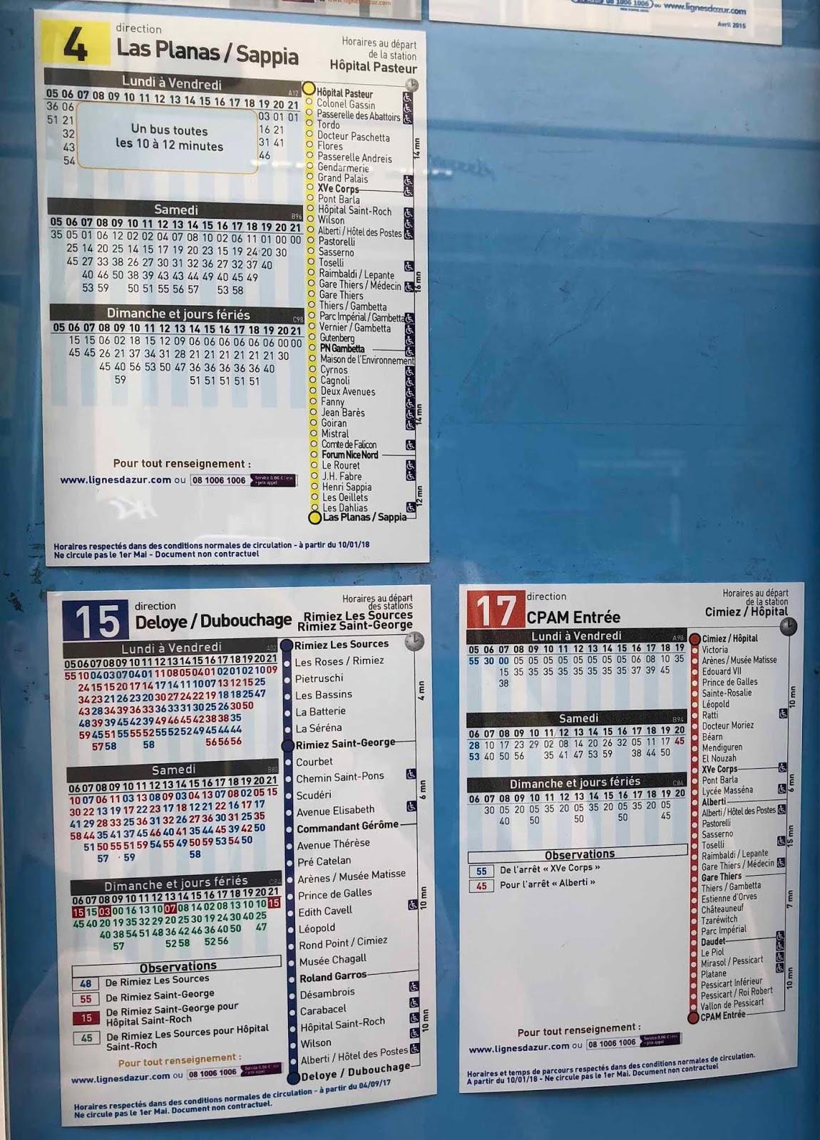 Bussiaikataulut
