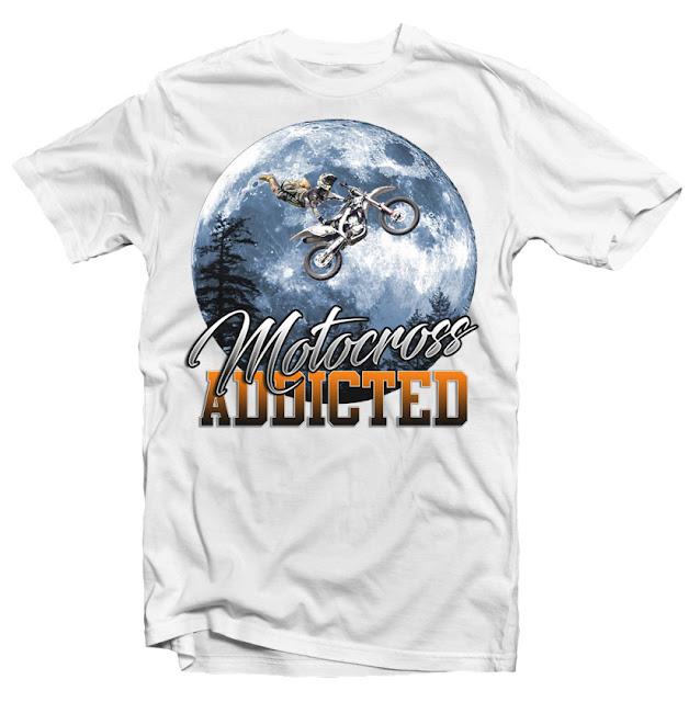 custom t shirts motocross