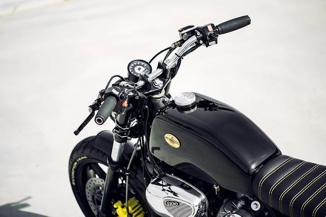 Yamaha XV1100 By Rogue Motorcycles Hell Kustom