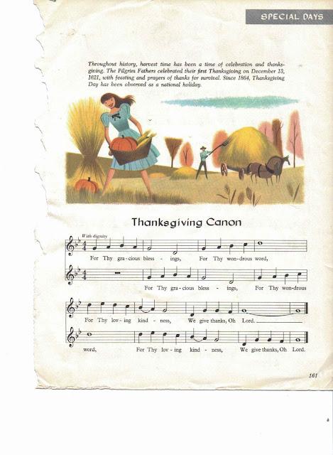 Thanksgiving Canon sheet music