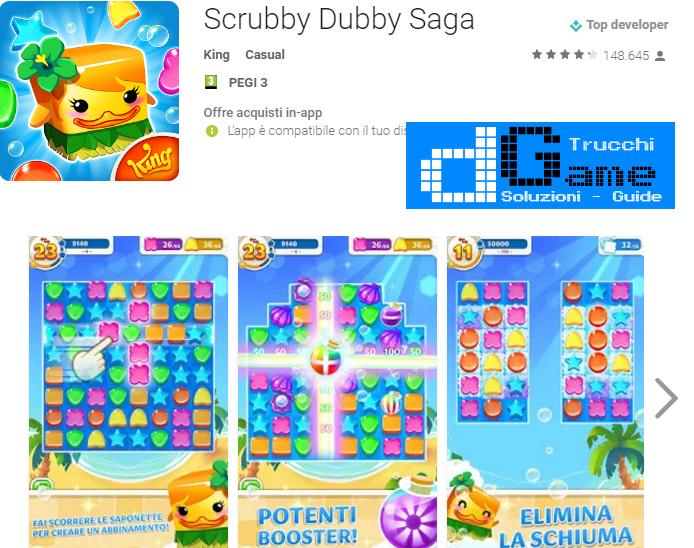 Soluzioni Scrubby Dubby Saga livello 321 322 323 324 325 326 327 328 329 330 | Trucchi e  Walkthrough level