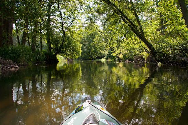 rzeka Brda z Charzykowy do Bydgoszczy, spływ kajakowy, kajak składany, kajaki, Bory Tucholskie
