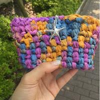 クラッチバッグの簡単な編み方をご紹介☆