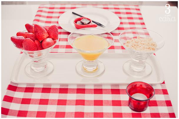 receita morango
