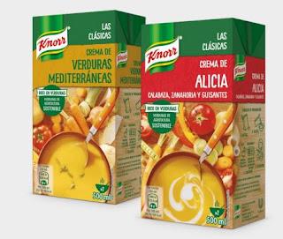 Prueba las cremas Knorr