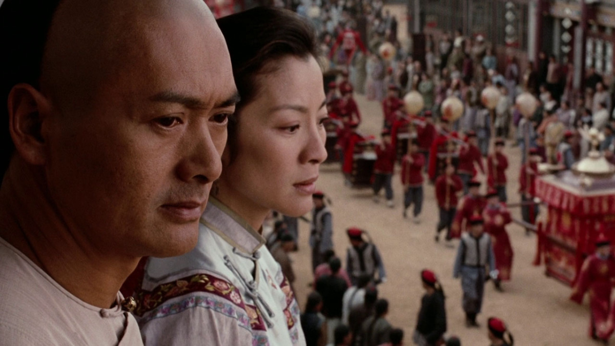 The Ace Black Movie Blog Movie Review Crouching Tiger Hidden Dragon 2000