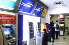 Cara Setor Tunai di ATM Mandiri Lengkap Dengan Gambar
