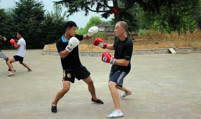 kickboxing latihan