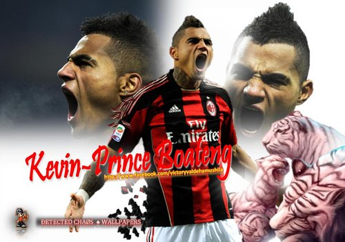 Kevin Prince Boateng HairStyle 2012