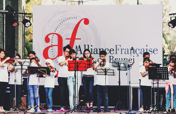 Expression Music Ensemble at Francophonie Week Brunei 2016, May Cho, Brunei Blogger