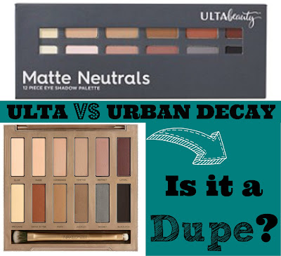 Affordable Dupe of the Urban Decay Naked Ultimate Basics Palette