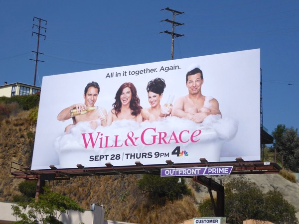 Will and Grace revival season 9 billboard