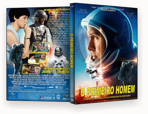 CAPA DVD – O PRIMEIRO HOMEM – ISO – CINEMA 2018