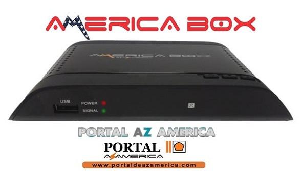 Resultado de imagem para AMERICABOX S105 PLUS PORTAL AZAMERICA