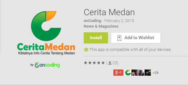 Cerita Medan - Android Apps on Google Play