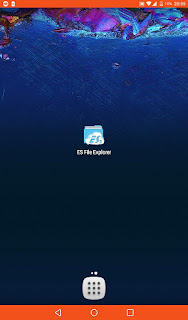 Ancient and classic version of the application ES File Explorer_3.2.5.apk