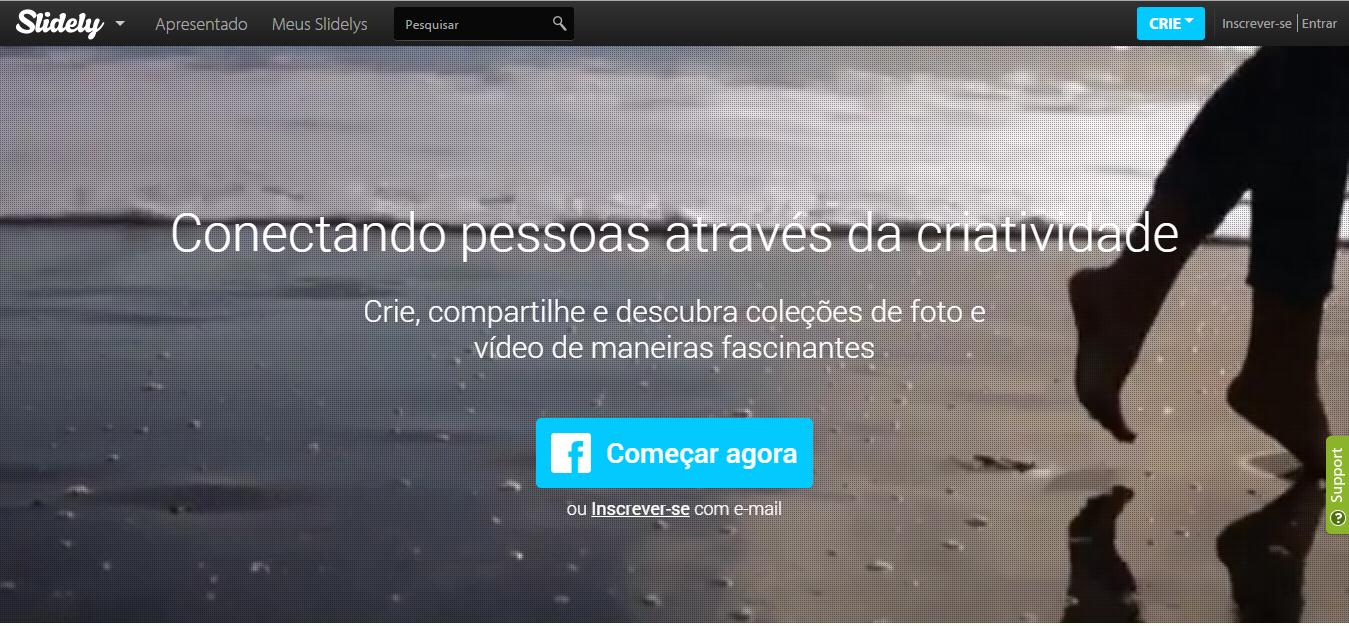 موقع لإنشاء فيديو او عرض شرائح بالصور الخاص بك