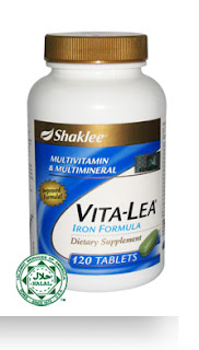 SHAKLEE VITA-LEA with Iron Formula