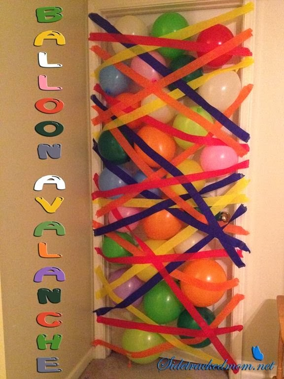 Balloon And Streamer Decoration Ideas