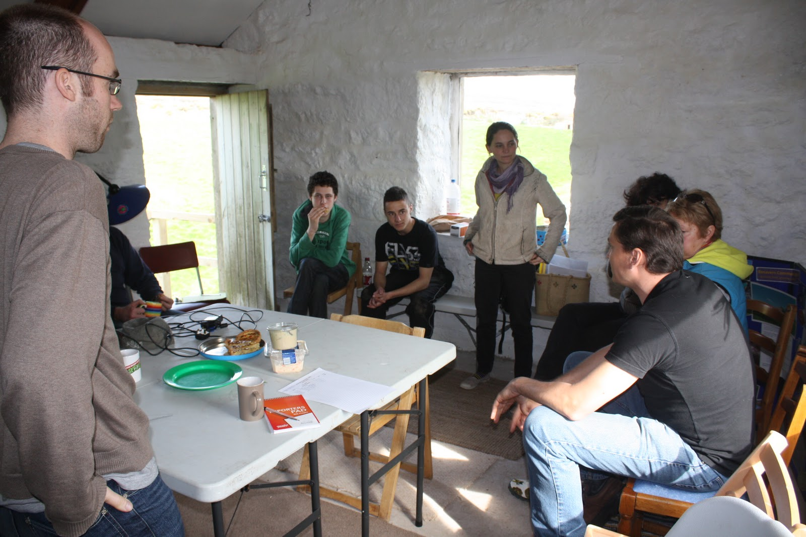 Bosavern Community Farm: WWOOF host regional gathering