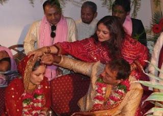 sanjay dutt with manyata wedding