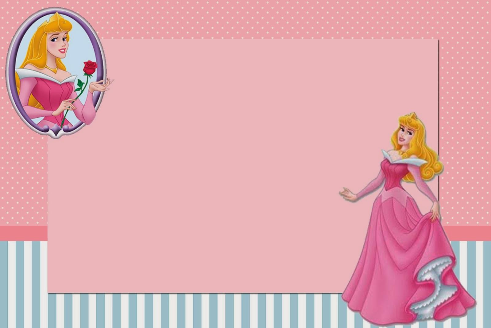 Sleeping Beauty: Free Printable Invitations. | Oh My Fiesta! in english
