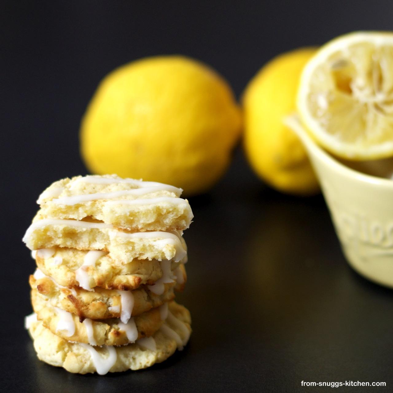 Ricotta Zitronen Cookies