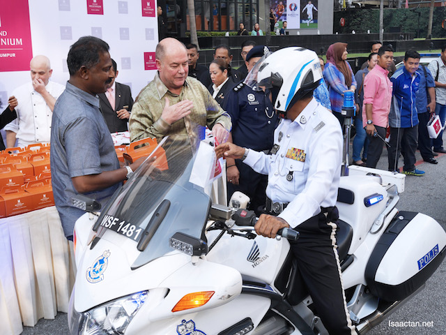 Grand Millennium Kuala Lumpur Shares Festive Joy With City Traffic Police Officers