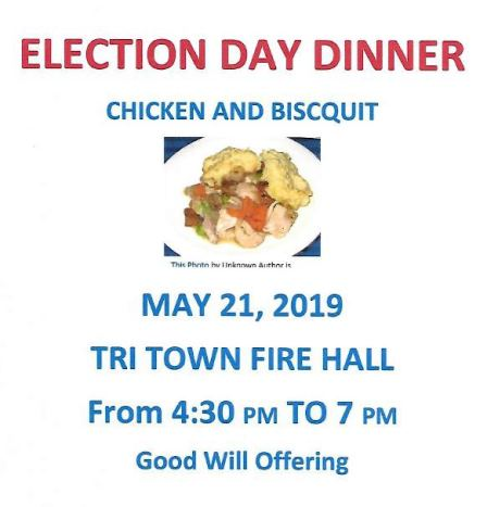 5-21 Election Day Dinner