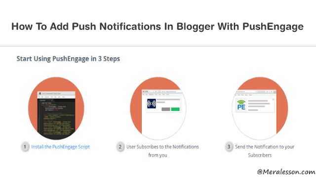 Add push notifications in your blog