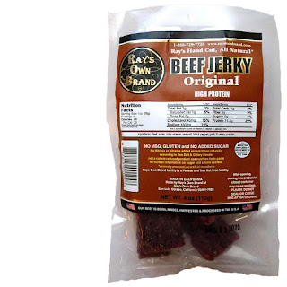 ray's own brand beef jerky