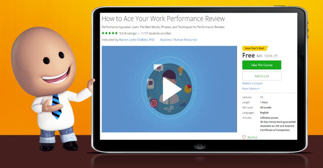 [100% Off] How to Ace Your Work Performance Review| Worth 65$