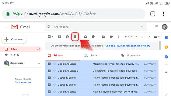 gmail-email-delete-hindi-me