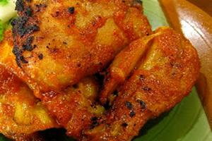Resep Ayam Panggang Kunyit
