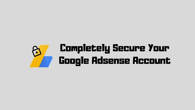 The Problem With Your Google Adsense Account!